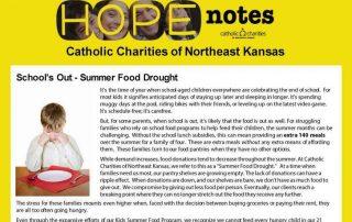 Hope Notes - Enewsletter - June 2016 - Page 1 Image