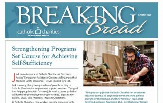 Cover Image - Spring 2017 Breaking Bread Newsletter