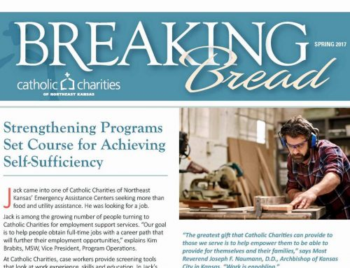 Breaking Bread – Spring 2017 – Strengthening Programs Set Course for Achieving Self-Sufficiency