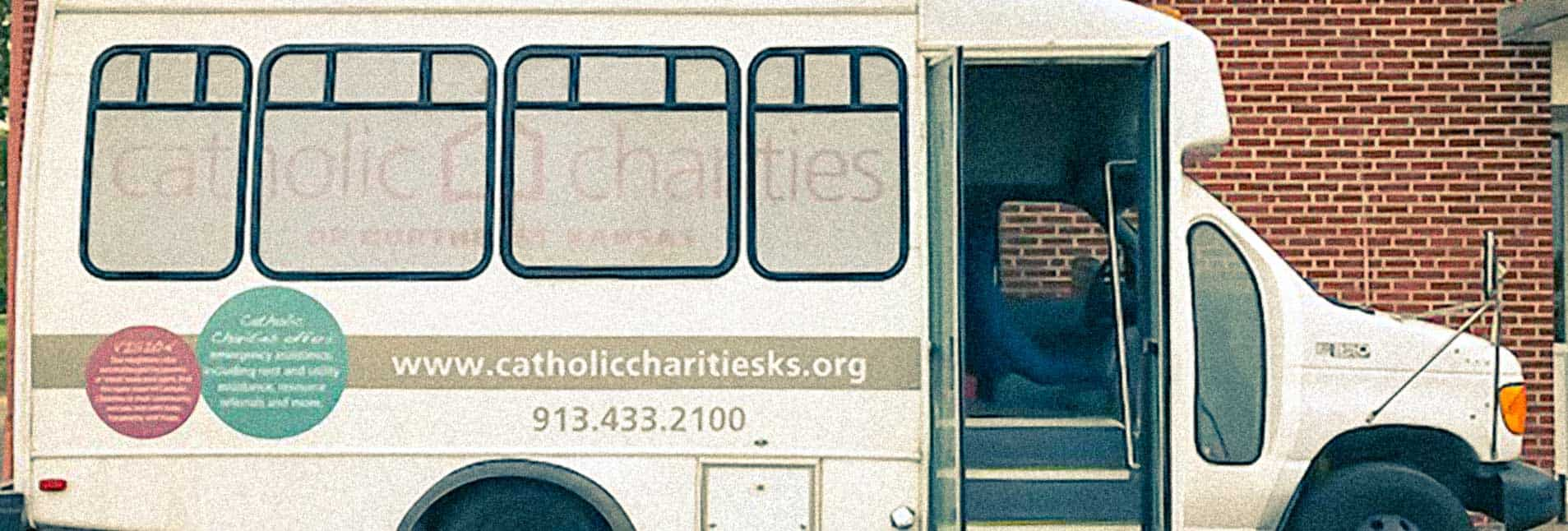 Mobile Resource Bus Catholic Charities of Northeast Kansas