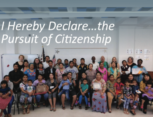 I Hereby Declare…the Pursuit of Citizenship
