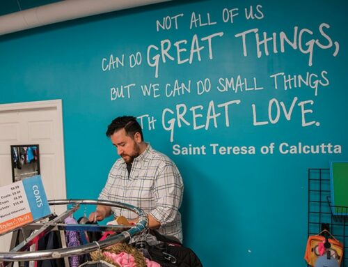 Thrift Store Manager Finds Purpose in His Profession