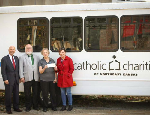 AT&T Supports Catholic Charities of Northeast Kansas with Funding and Volunteer Hours