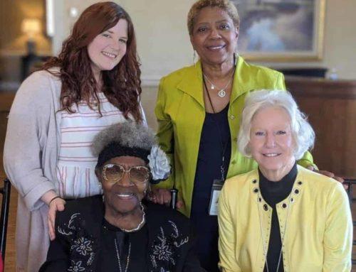 "Foster Grandparent, Connie Hadley, is ""Everyone's Grandma"""