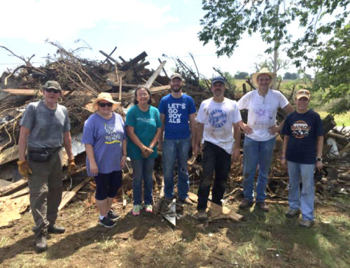 Volunteers Help Clean Tornado Aftermath