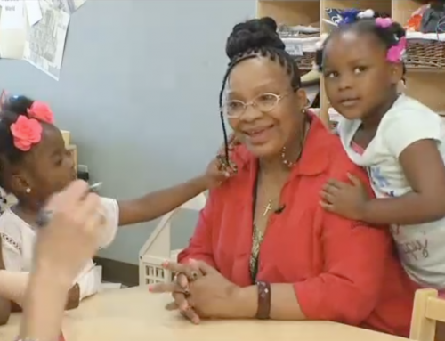 Foster Grandparents Give and Get