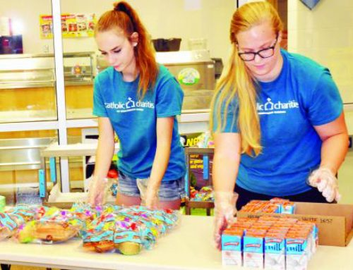 The Holton Recorder: Catholic Charities feeds more than 60 kids in Holton