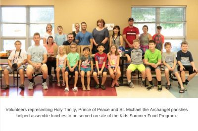 Holy Trinity Prince Of Peace SMA Volunteers