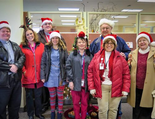 Caroling at Hospice Patients' Homes