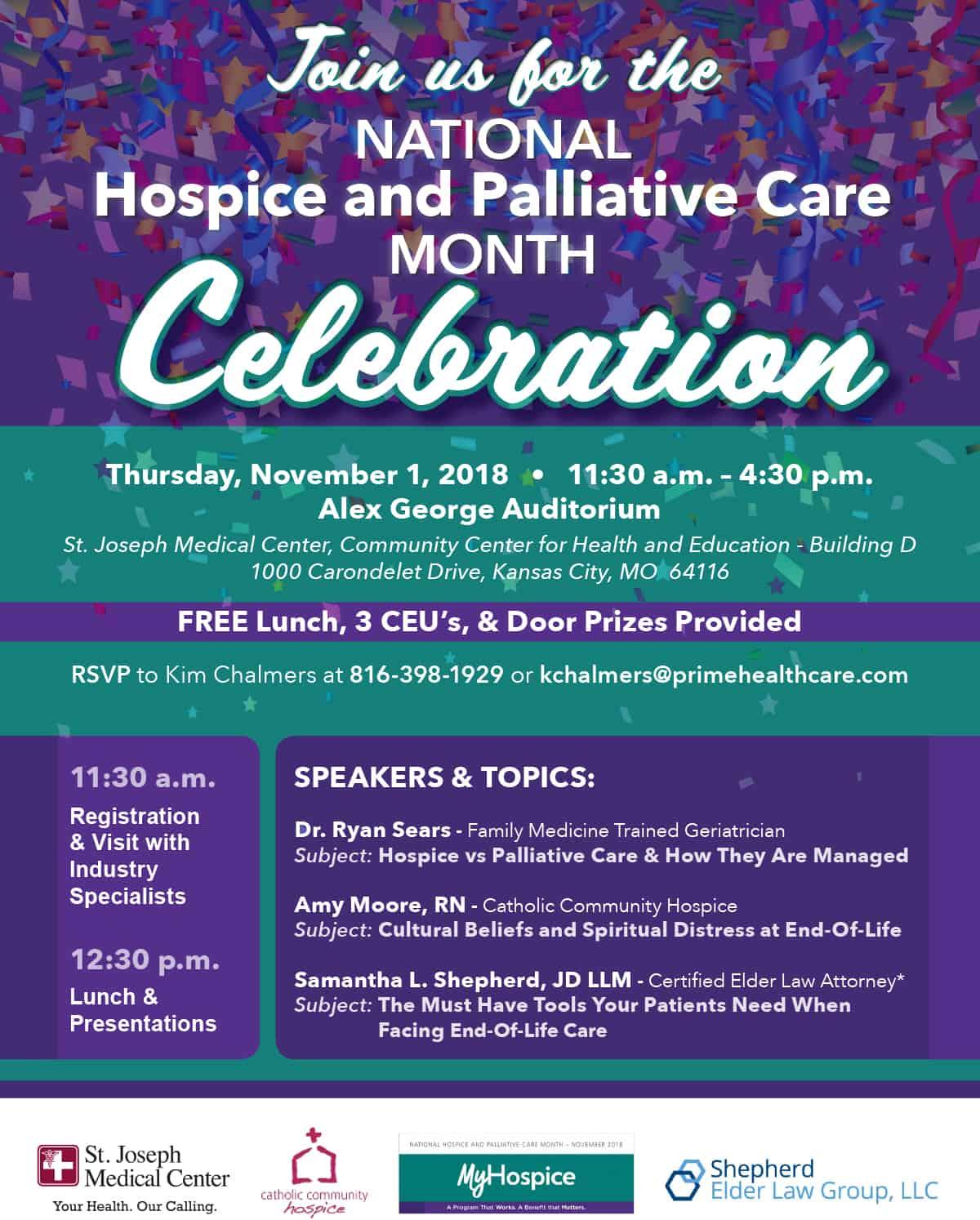 National Hospice And Palliative Care Month Celebration Catholic