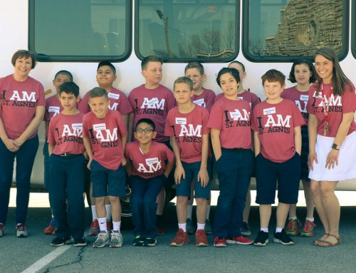 Share the Journey: St. Agnes Rams Reaching Out Day