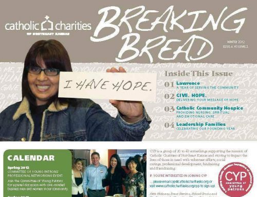 Breaking Bread – Winter 2012 – Lawrence: A Year of Serving the Community