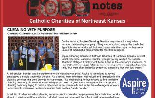 Hope Notes - November 2016 E-Newsletter