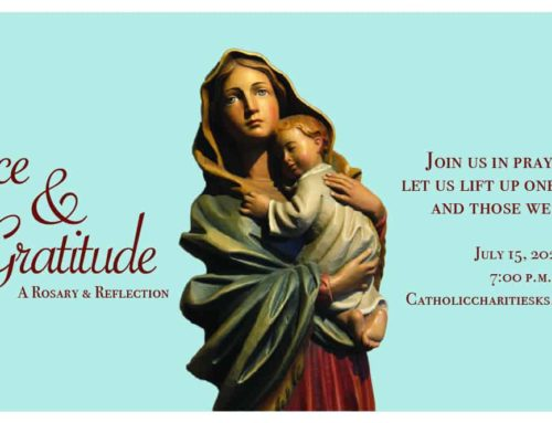 Save the Date! Grace & Gratitude Rosary and Reflection Event