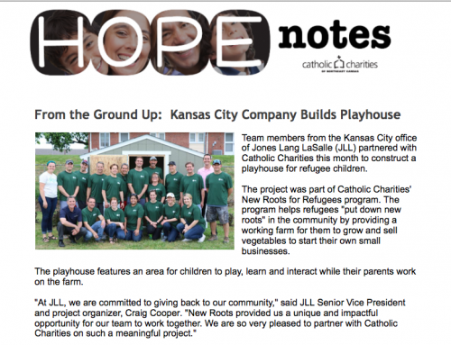 Hope Notes – June 2017 – E-Newsletter