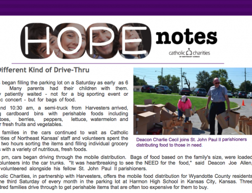Hope Notes – September 2017 – E-Newsletter