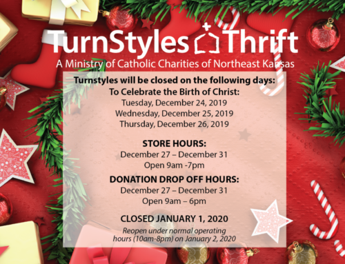 TurnStyles Thrift Stores Holiday Hours