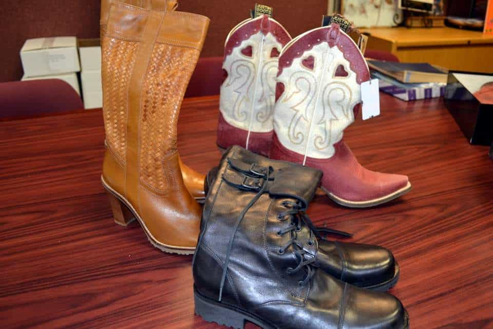 TurnStyles Thrift Stores Boot and Shoe