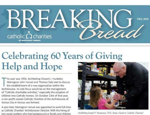 Breaking Bread – Fall 2016 – Celebrating 60 Years of Giving Help and Hope
