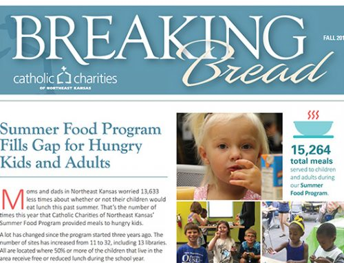 Breaking Bread – Fall 2017 – Summer Food Program Fills Gap for Hungry Kids and Adults