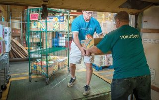 Food Rescue - photo by The Leaven