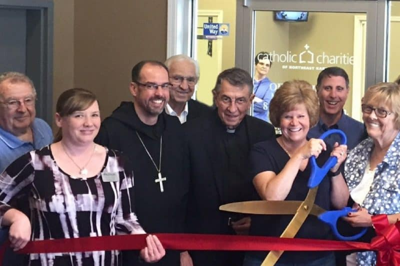 catholic charities of northeast kansas ribbon cutting sized for blog (1)