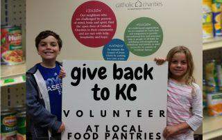 food pantry volunteers catholic charities of northeast kansas
