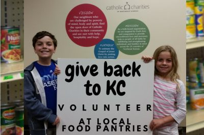 food pantry volunteers catholic charities of northeast kansas