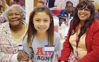 Foster Grandparents Volunteers