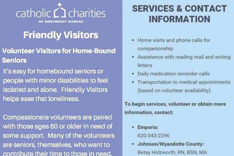image for Friendly Visitors program information sheet