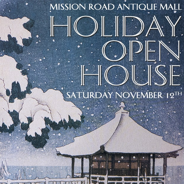 Mission Road Antique Mall Open House - November 12, 2016