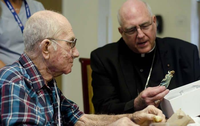 Hospice Patient Archbishop