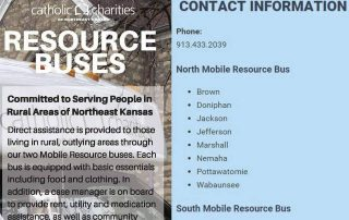 first page image for Information Sheet - Mobile Resource Bus
