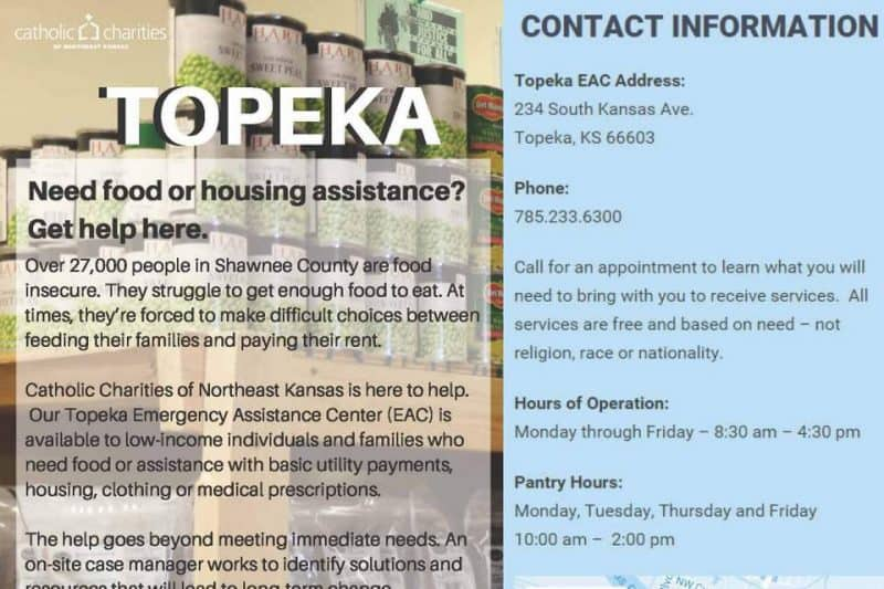 partial image of Information Sheet for Topeka EAC