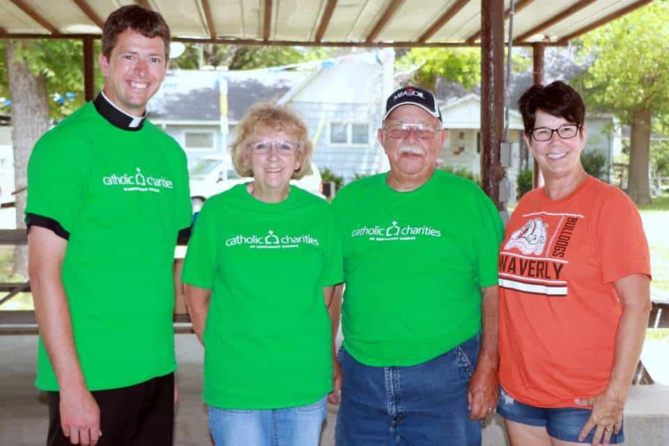 Kids Summer Food Volunteers