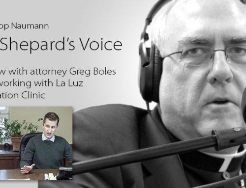 Listen: Attorney Greg Boles, La Luz Immigration Clinic