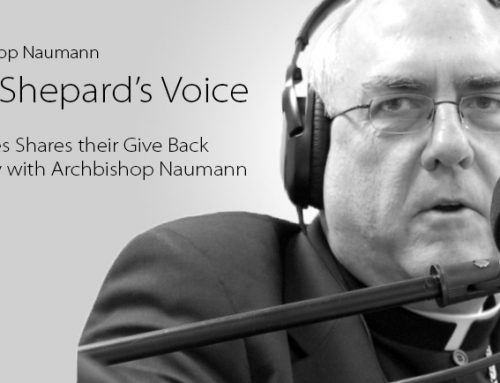 Listen: St. Agnes Shares their Give Back Strategy with Archbishop Naumann