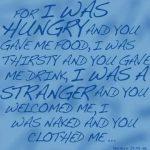 Matthew 25 Verse - background image